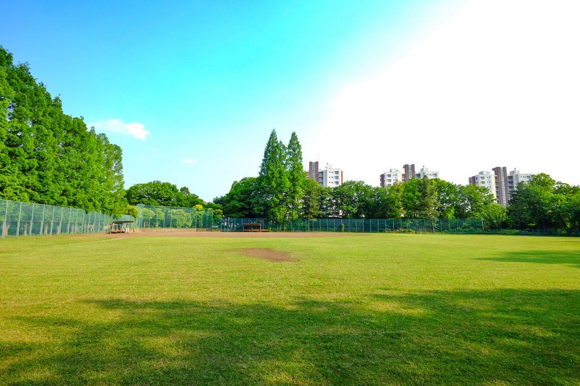 貝取南公園野球場