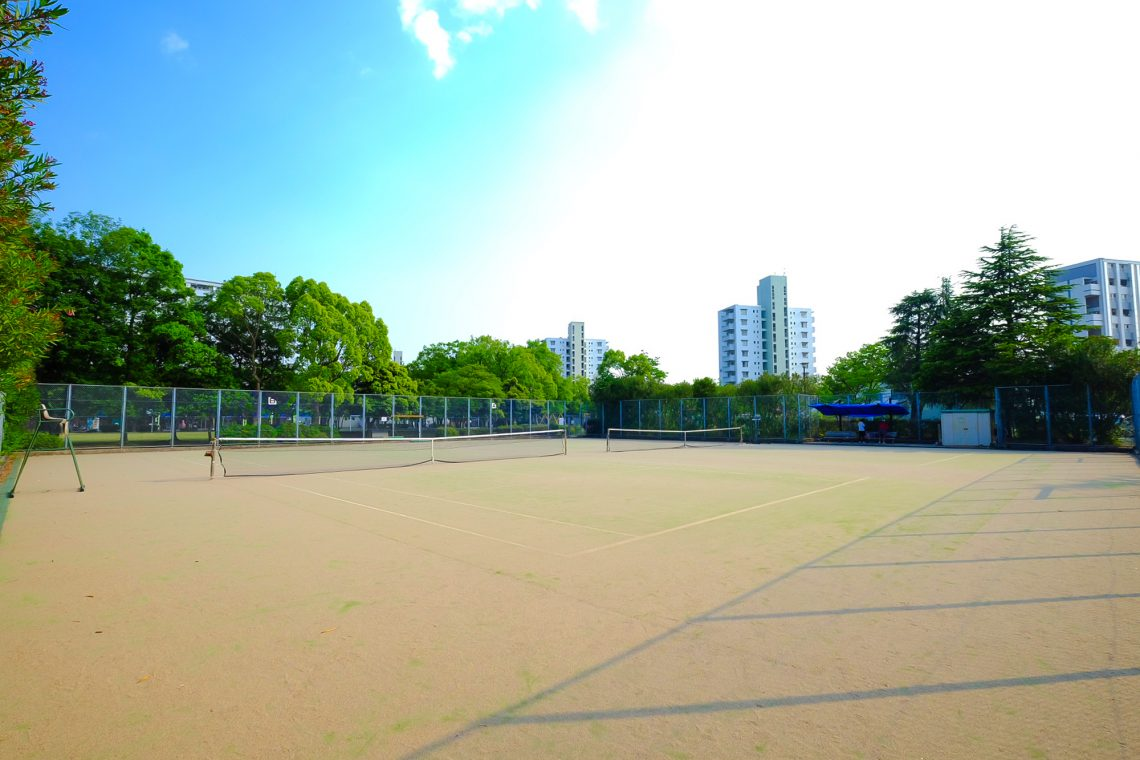 永山南公園庭球場