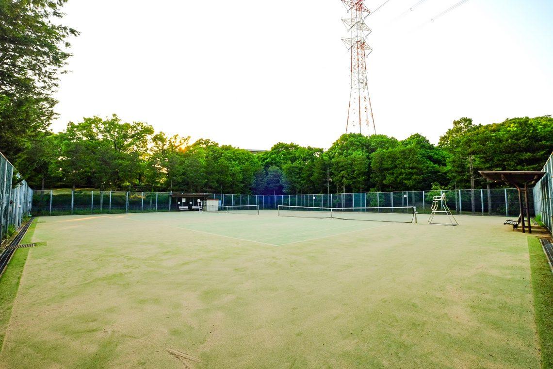 貝取北公園庭球場