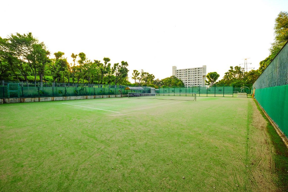愛宕東公園庭球場