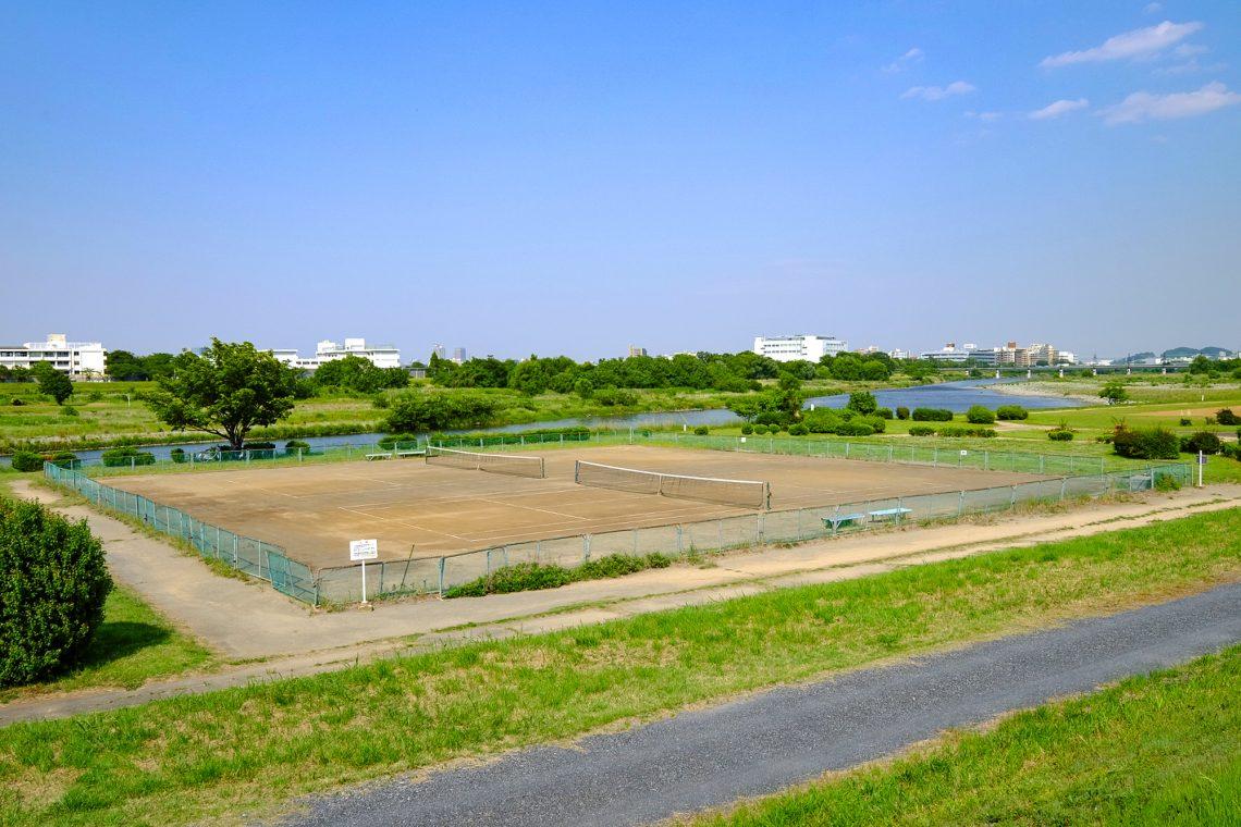 一ノ宮公園庭球場
